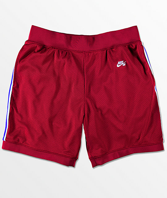 Nike SB Dry Court Red Shorts