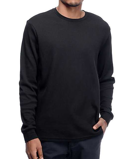 Nike SB Dry Thermal Black Long Sleeve Shirt at Zumiez : PDP