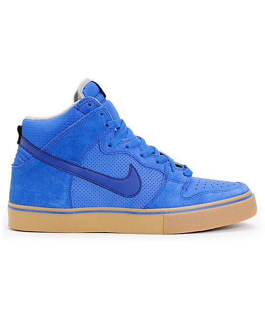 Nike SB Dunk High LR Royal & Blue Skate Shoes