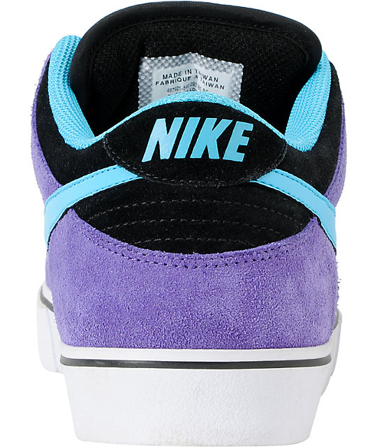 Nike SB Dunk Low LR Purple & Chlorine Skate Shoes