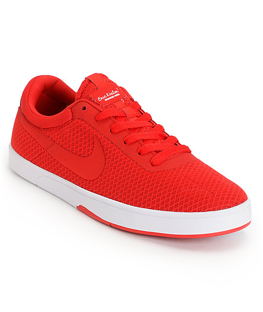 Nike SB Eric Koston Express University Red & White Skate Shoes