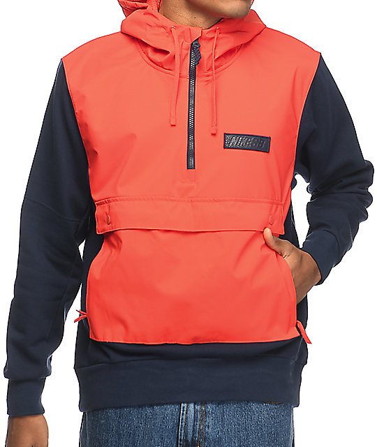 Nike SB Everett Max Orange & Obsidian Repel Anorak Jacket