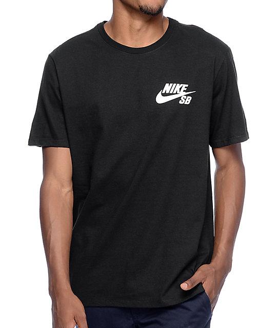 Nike sb futura black t shirt for Nike sb galaxy shirt