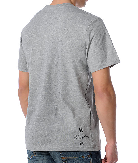 Nike SB Hubs Heather Grey T-Shirt
