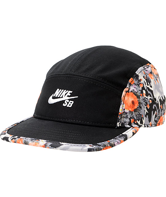 Nike SB Icon 5 Panel Mandarin Hat
