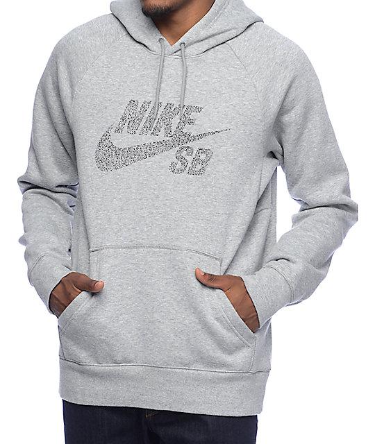 Nike Sb Icon Dots sweat à capuche noir blanc