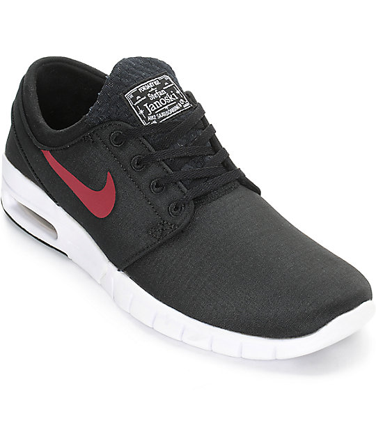 añadir Marco Polo Hacer  Buy Online nike stefan janoski max black red Cheap > OFF30% Discounted