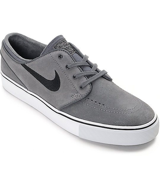 Mens Nike Leather Skate Shoes