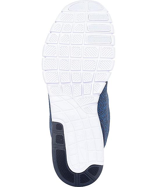 Nike SB Janoski Max Obsidian & White Skate Shoes