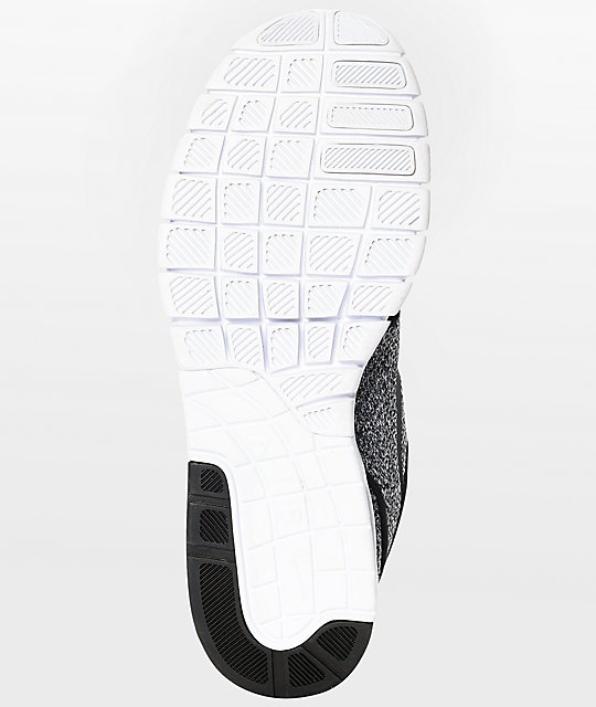Nike SB Janoski Max White, Black & Dark Grey Skate Shoes