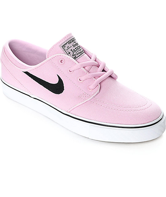 nike sb janoski prism pink canvas s skate shoes