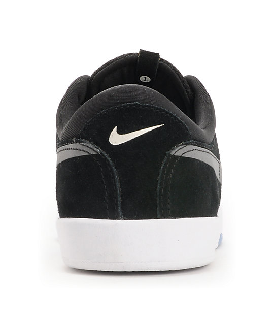 Nike SB Koston Black & White Skate Shoes