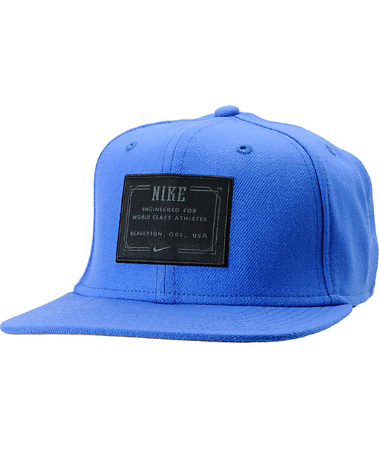 Nike SB Lock Up Blue Snapback Hat