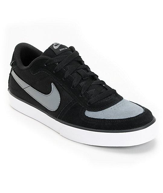 Nike SB Mavrk Low Black, Cool Grey & White Skate Shoes