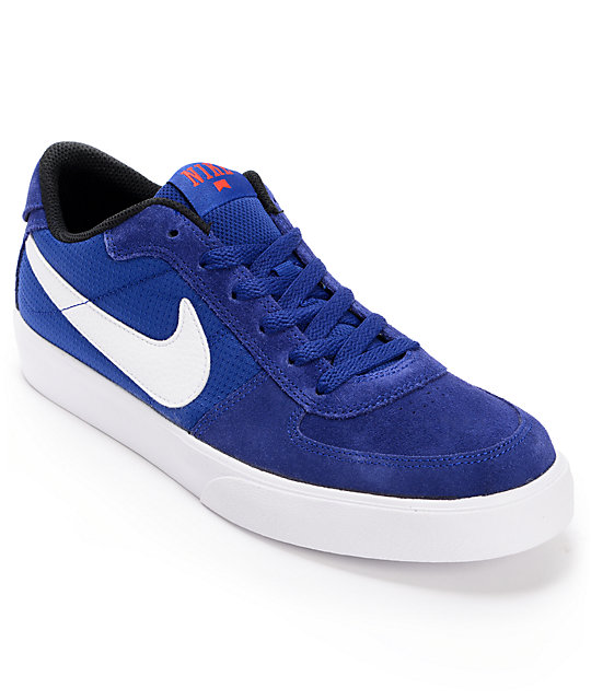 Nike SB Mavrk Low Royal Blue & White Skate Shoes