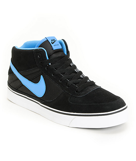 Nike SB Mavrk Mid 2 Black, Lt Photo Blue & White Shoes