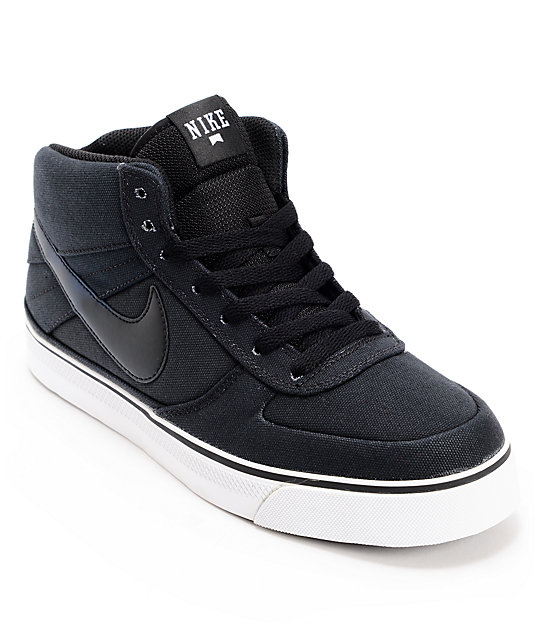 Nike SB Mavrk Mid 2 Thermohype Black & Blue Skate Shoes