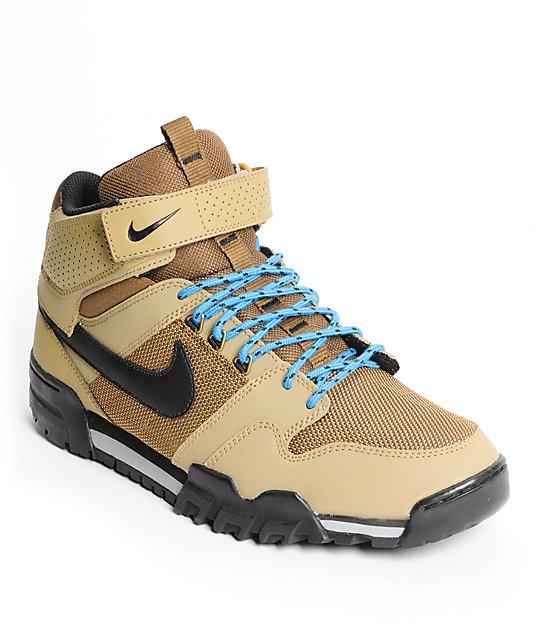 Nike SB Mogan Mid 2 OMS Filbert & Dark Khaki Shoes