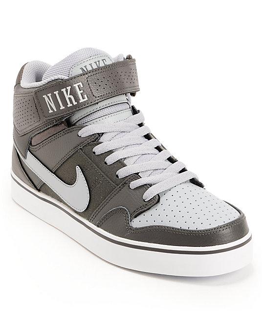 nike sb mogan mid 2 se fog white grey skate shoes at. Black Bedroom Furniture Sets. Home Design Ideas