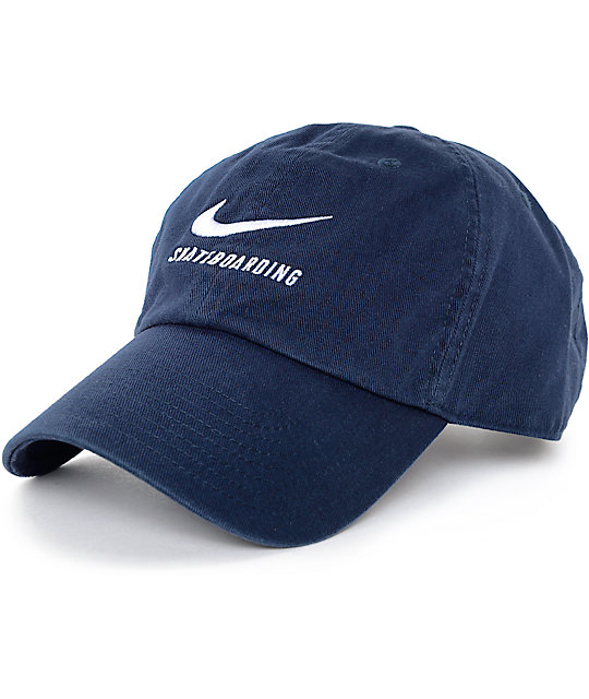 navy blue nike cap