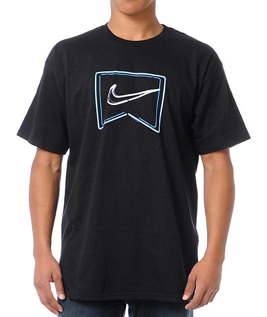 Nike SB Neon Icon Black T-Shirt