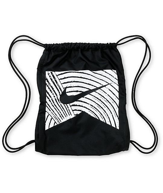 SB Only Black Drawstring Bag
