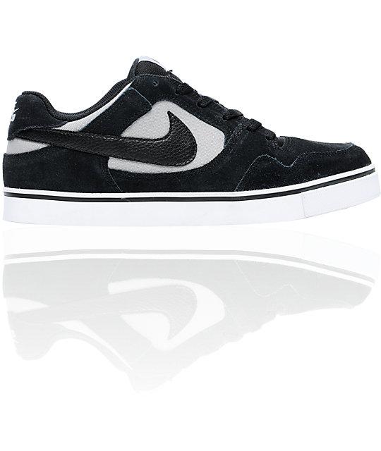 Nike SB P-Rod 2.5 Black & Grey Suede Skate Shoes
