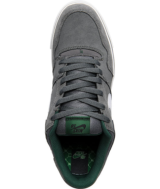 Nike SB P-Rod 2.5 Dark Grey & Green Shoes