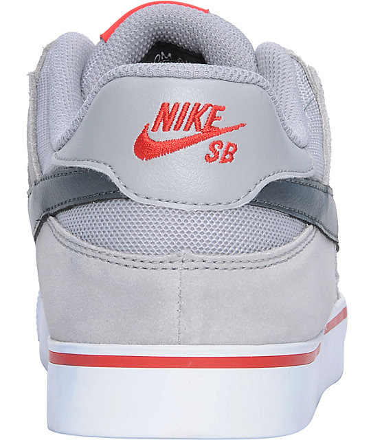 Nike SB P-Rod 2.5 Silver, Black & Anthracite Suede Skate Shoes