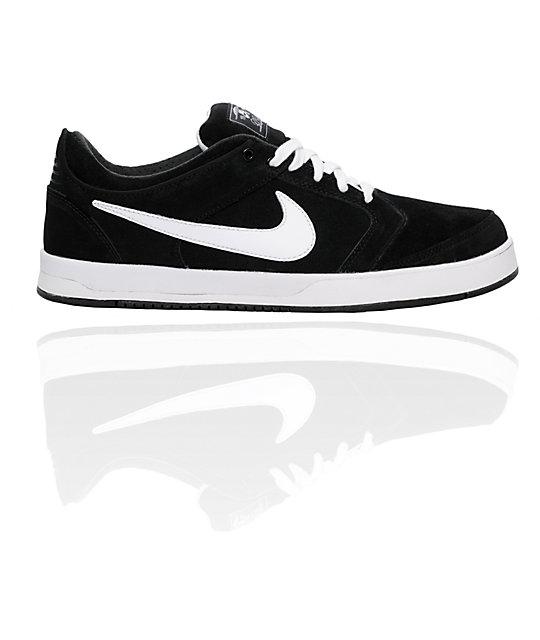 Nike SB P-Rod 4 Black & White Shoes