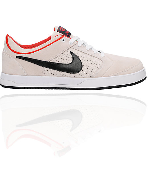 Nike SB P-Rod 4 White & Black Shoes