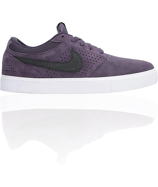 Nike SB P-Rod 5 LR Lunarlon Abyss, Black & White Skate Shoes
