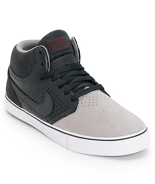 Nike SB P-Rod 5 Mid LR Sport Grey & Anthracite Skate Shoes