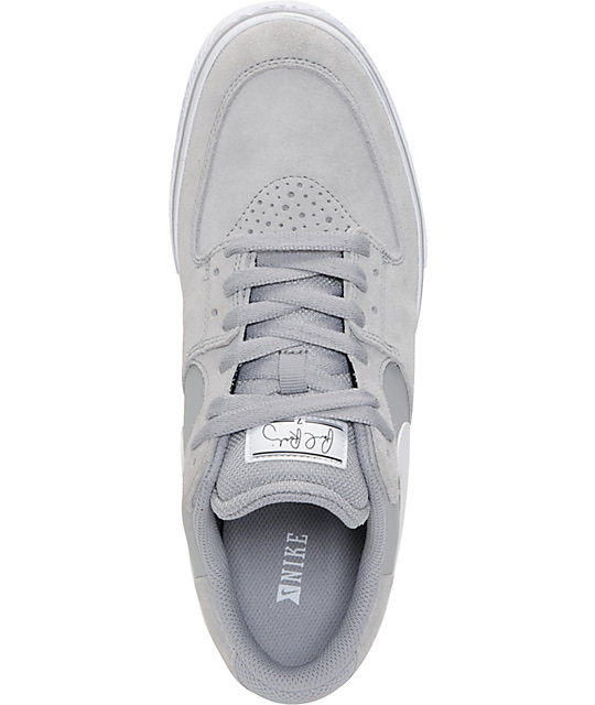 Nike SB P-Rod 7 VR Matte Silver & White Skate Shoes