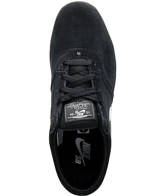 Nike SB P-Rod Vulc Rod Black & Grey Skate Shoes