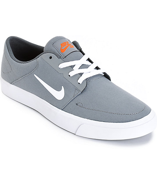Nike Herren Sb Check Solarsoft Gymnastikschuhe Grau Cool