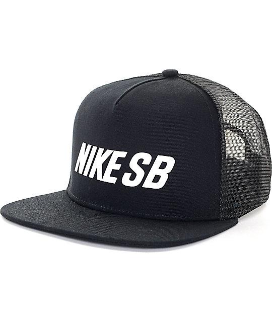 Nike SB Reflective Black Trucker Hat b7b0da6c20d
