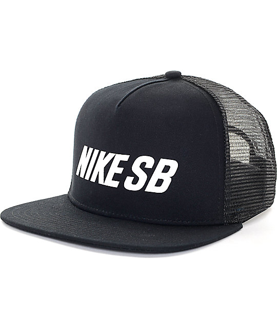 Nike SB Reflective Black Trucker Hat 2659b4d66c9