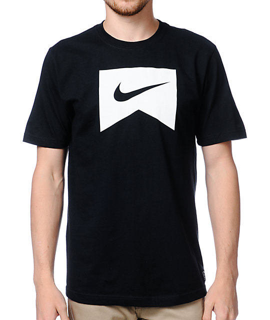 Nike SB Ribbon Icon Black T-Shirt