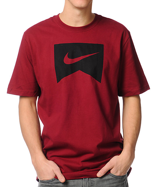 nike red t shirt