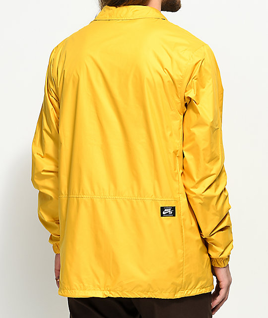 Nike SB Shield Gold Coaches Jacket