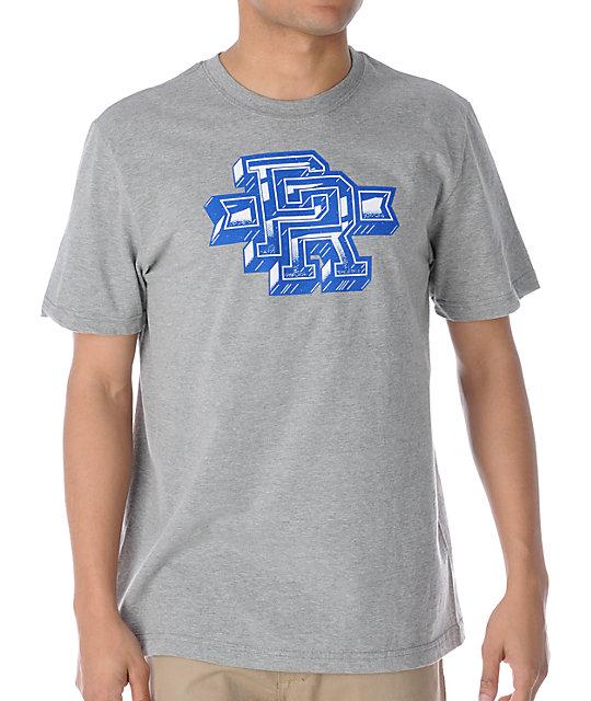 Nike SB St-shirtly Icon Heather Grey T-Shirt