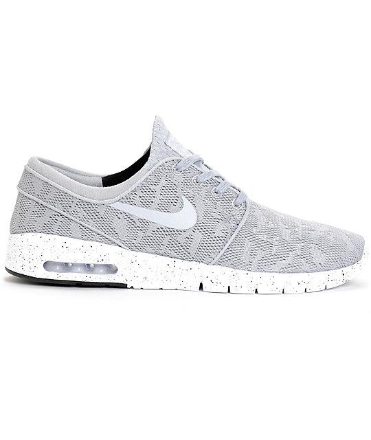 dc393d53ff6 nike sb stefan janoski max wolf grey mesh shoes Jordan ...