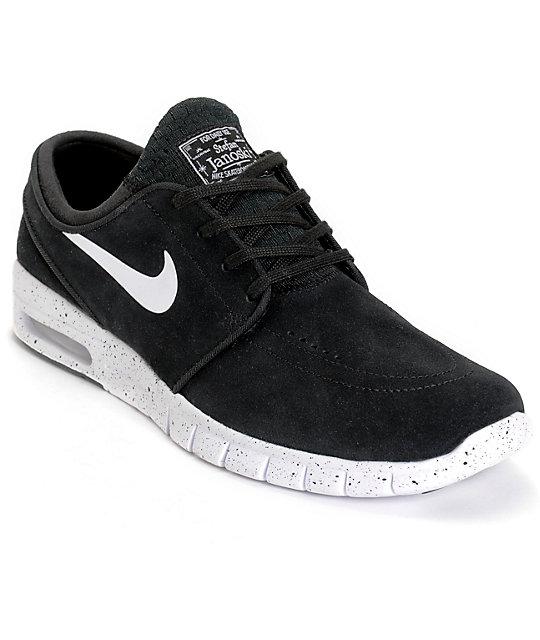 Nike Sb Janoski Max Black White Mesh