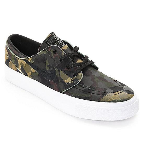 Camo Nike Skate Shoes