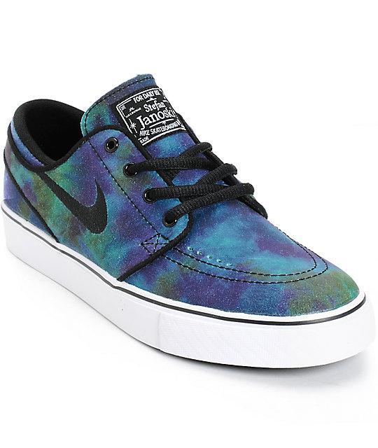 Nike SB Stefan Janoski Premium Nebula Boys Skate Shoes at ...