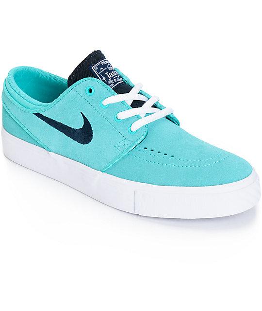 Nike SB Stefan Janoski Retro and White Boys Skate Shoes