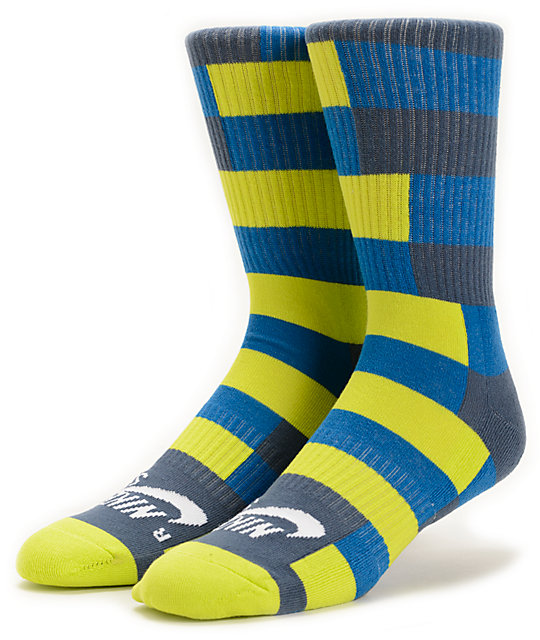 Nike SB Striped Dri-Fit Crew Socks