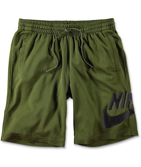 Nike SB Sunday Green Dri-Fit Shorts