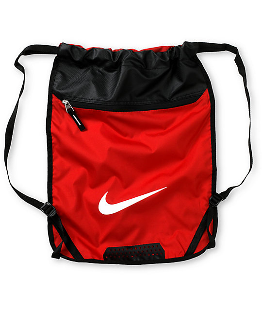 SB Team Training Red Drawstring Bag